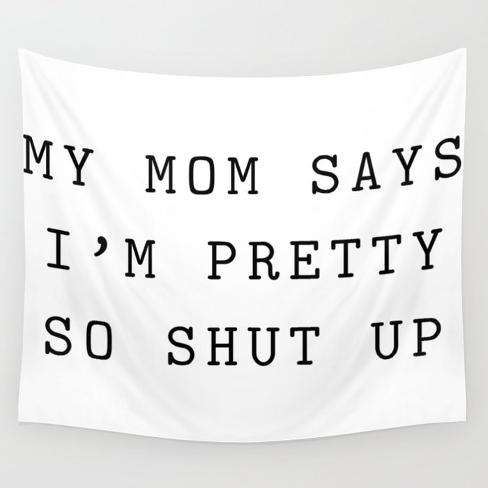 Funny text Wall Tapestry