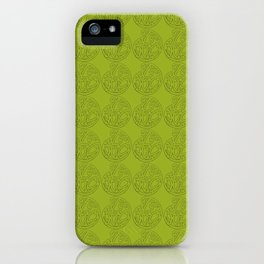 MAD HUE Total Green iPhone Case