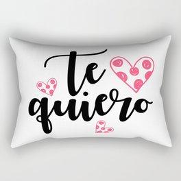 Te quiero Rectangular Pillow