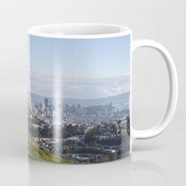 San Francisco Skyline from Mt. Davidson Coffee Mug
