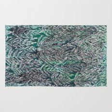 Snow Pines (Green) Rug