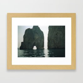 Capri 5 Framed Art Print
