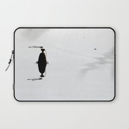 Dragonfly On A Bobber Laptop Sleeve
