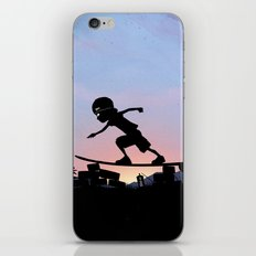 Silver Surfer Kid iPhone & iPod Skin