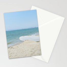 Edge of Long Beach Stationery Cards