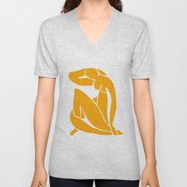 Matisse in Gold Unisex V-Neck