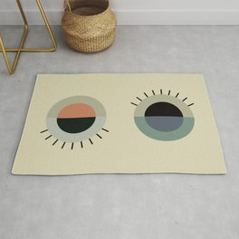 day eye night eye Rug