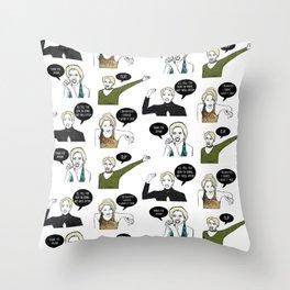 A Medley Print Throw Pillow