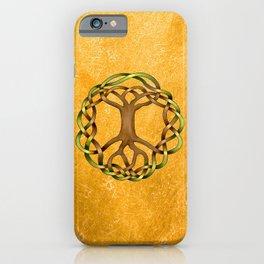 World Tree (Yggdrasil) Knot iPhone Case