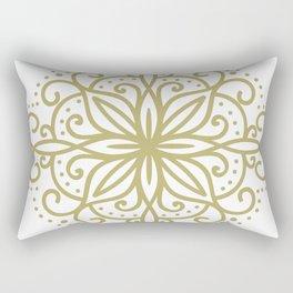 abstract floral symbol Rectangular Pillow