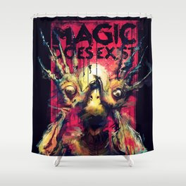 Pan's Labyrinth (Pale Man) Shower Curtain