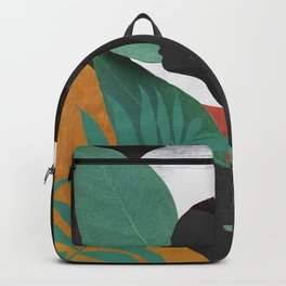 Tropical Girl 11 Backpack