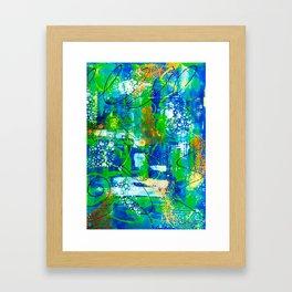 All A Whirl Framed Art Print