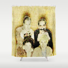 MARX BROTHERS - 004 Shower Curtain