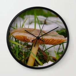 Under my umbrella Wall Clock