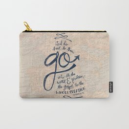 Go Into All The World Carry-All Pouch
