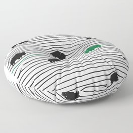 WAVY BFLO Floor Pillow