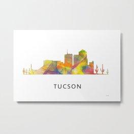 Tucson, Arizona Skyline WB1 Metal Print