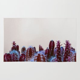 Abstract cactus Rug