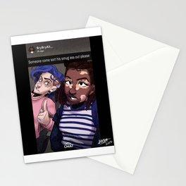 Dallas and Bryana - momodraws oc Stationery Cards