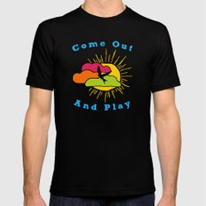 Come Out and Play Mens Fitted Tee Black MEDIUM