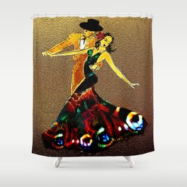 DANCERS - La Fiesta Shower Curtain