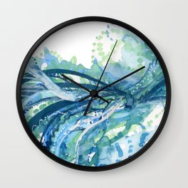 Droplets Wall Clock