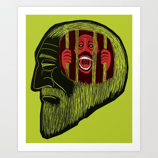 crime and punishment Art Print
