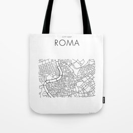 Roma - City Map - Daniele Drigo Tote Bag