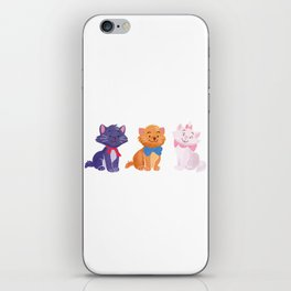 Once upon a time Aristocats iPhone Skin