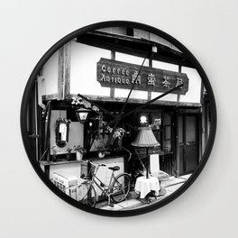 Nagasaki Side Street  Wall Clock