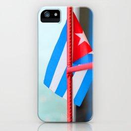 132. Cuban Flag, Cuba iPhone Case