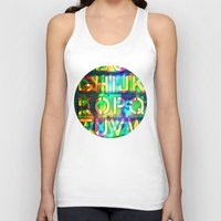 alphabet Tank Tops featuring Alphabet by itsme23