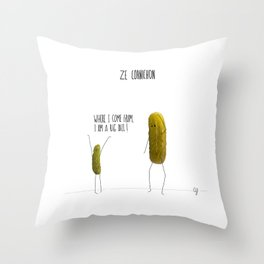 Bigdill Throw Pillow