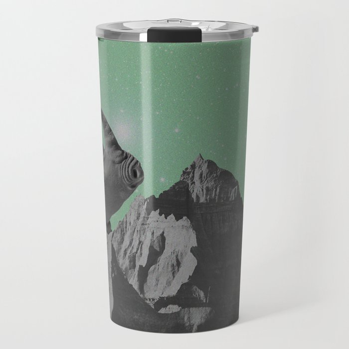 Rhino Mountain mint Travel Mug