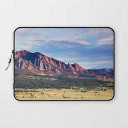 Boulder Colorado Flatirons Laptop Sleeve