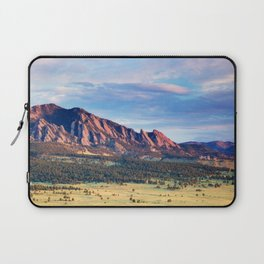 Boulder Colorado Flatirons Laptop Sleeve