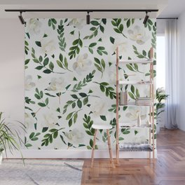 Magnolia Tree Wall Mural