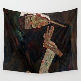 "Egon Schiele ""The Lyricist"" Wall Tapestry"