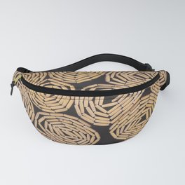 Wood planks texture Fanny Pack
