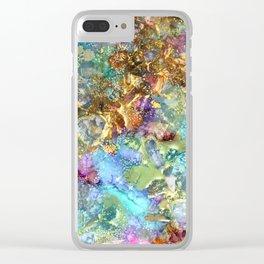 Mermaids Treasure Clear iPhone Case