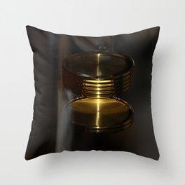 Spinning watch Throw Pillow