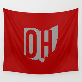 Ohio State Pride Wall Tapestry