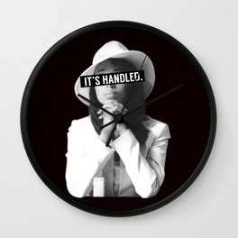 Olivia Pope Scandal It's Handled Wall Clock