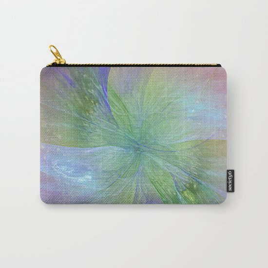 Mystic Warmth Abstract Fractal Carry-All Pouch