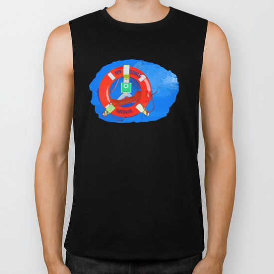 Wheel and Ropes Biker Tank