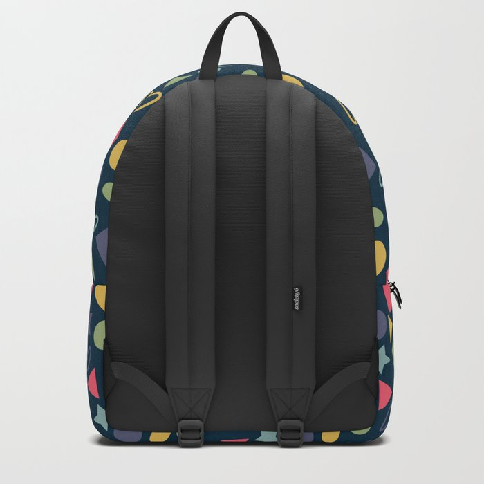 Colorful Lovely Pattern XI Backpack
