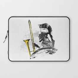 Trombone Warrior Laptop Sleeve