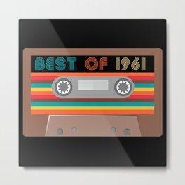 Best of  1961 Metal Print