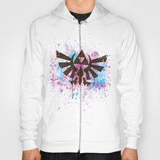 Splash Triforce Emblem Hoody